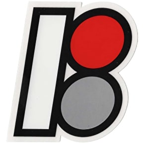 Plan B Die Cut B Logo Skateboard Sticker