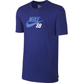Nike SB Dri-Fit Icon Reflective T-Shirt - Deep Royal