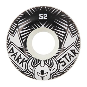Darkstar Block Skateboard Wheels - Silver 52mm