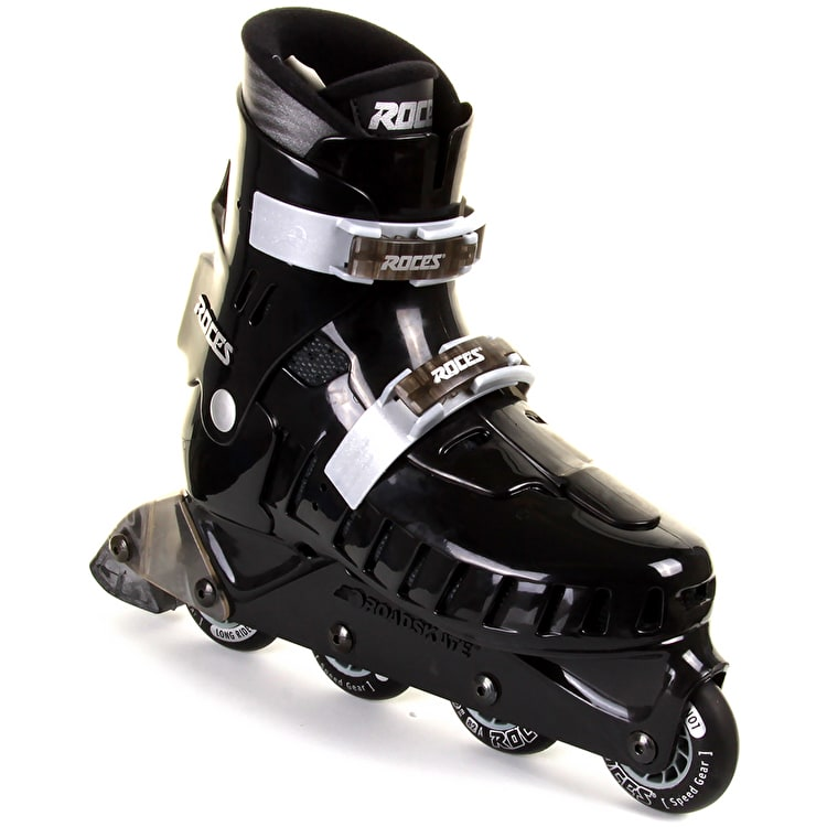 Roces NRT Tokyo Inline Skates - Black/Forest Green UK Size 8 (B-Stock)