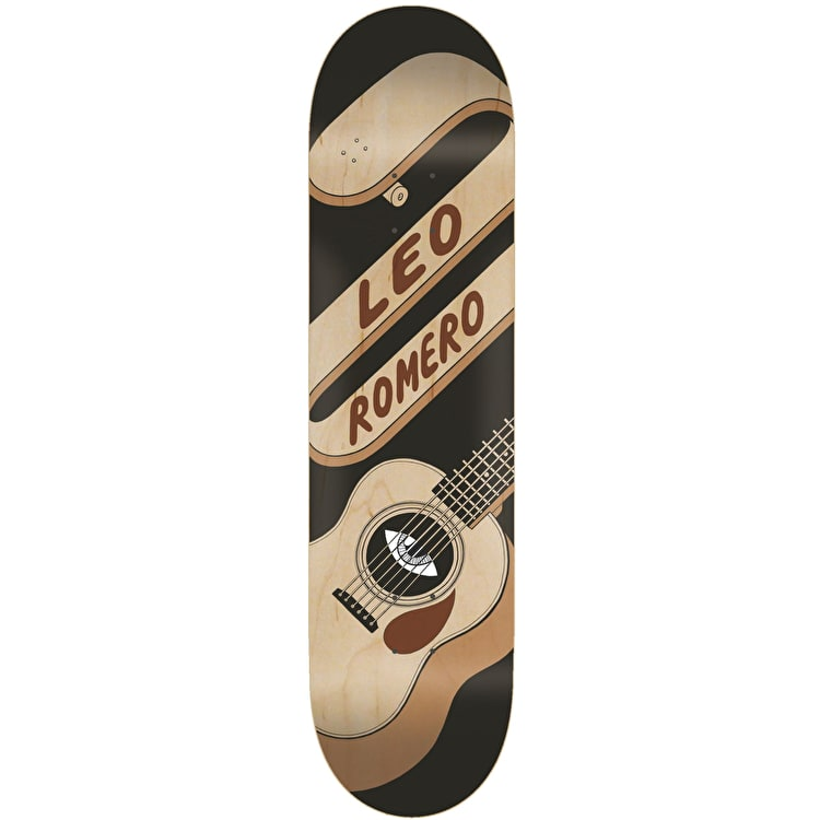 Toy Machine Guitar Skateboard Deck - Romero 8.25""