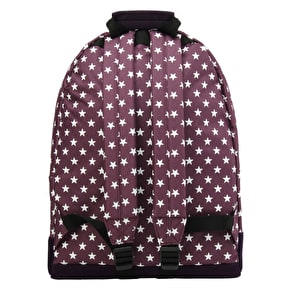 Mi-Pac All Stars Backpack - Plum/Navy