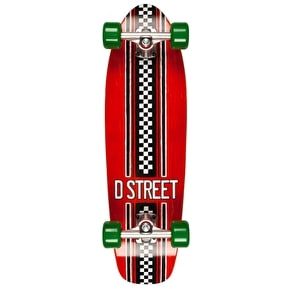 D-Street Bomber - Check Red/Green 29
