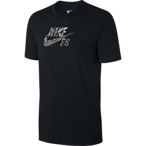 Nike SB Icon Seat Cover T-Shirt - Black/Black