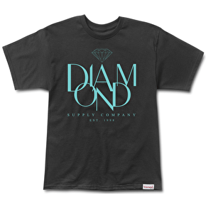 Diamond Parisian T-Shirt - Black