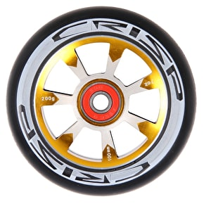 Crisp Hollowtech 100mm Scooter Wheel - Black/Gold