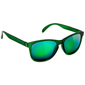 Glassy Sunhaters Jaws Sunglasses - Green Galaxy