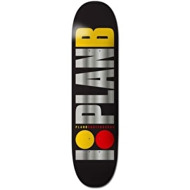 Plan B Skateboard Deck - Team OG BLK ICE 8.25