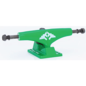 Fracture Wings Skateboard Trucks - Green 5