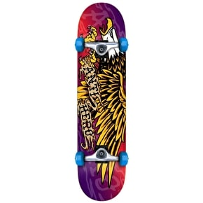 Anti Hero Payback Fade Complete Skateboard - Red/Purple/Yellow 7.75