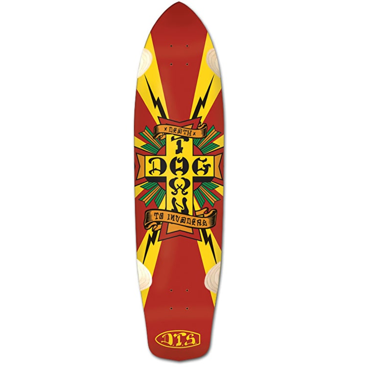 Dogtown Death To Invaders Longboard Deck - 9""