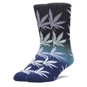 Huf Gradient Plantlife Socks - Black/Blue