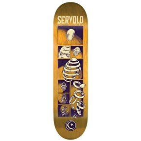 Foundation Servold Splittin' Skateboard Deck - 8.25