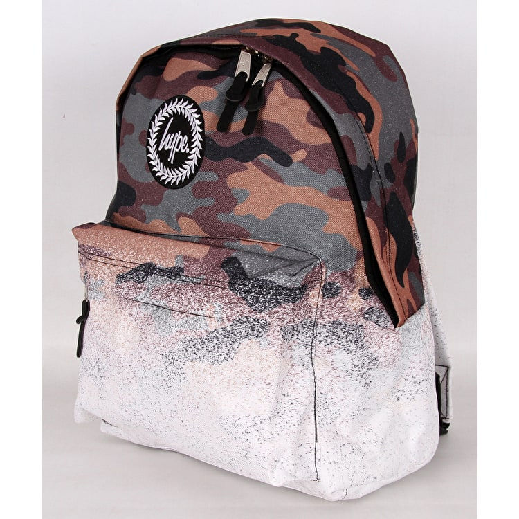 Hype Camo Fade Backpack - Camo/White