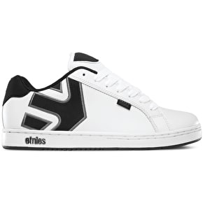 Etnies Fader Shoes - White/Dark Grey
