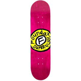 Foundation Sketchy Circle Skateboard Deck - 8
