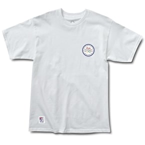 Grizzly World Wide T-Shirt - White