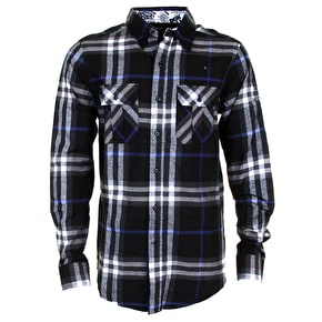 DGK From Nothing Flannel Shirt - Black