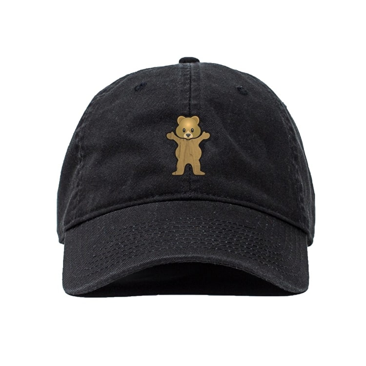 Grizzly Pudwill Pro Dad Hat - Black