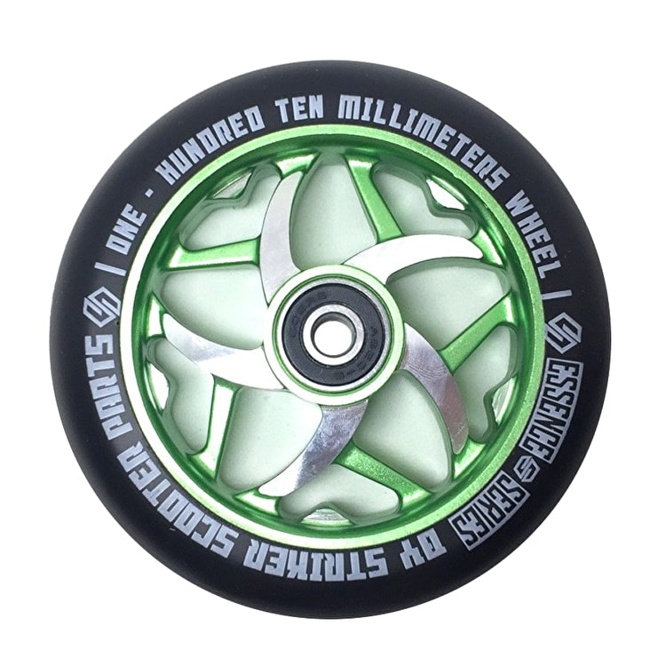 Striker 110mm Essence Scooter Wheel - Green
