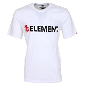 Element Horizontal T-Shirt - Optic White