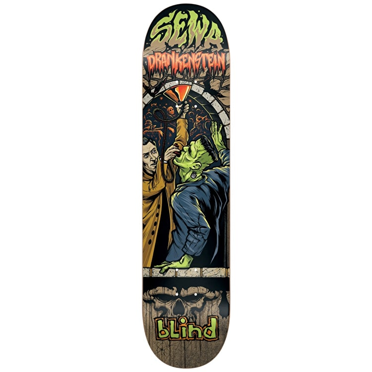 Blind Party Monster R7 Skateboard Deck - Sewa 7.75""
