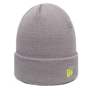 New Era Flag Pop Cuff Beanie - Grey/Cyber Yellow