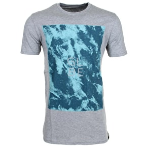 Globe Acid T-Shirt - Grey Marl