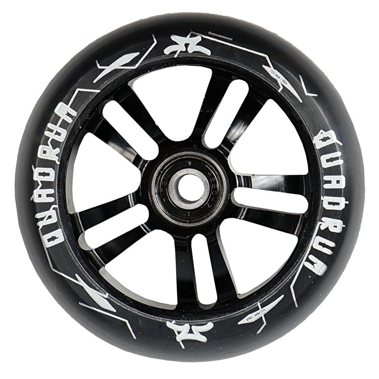 AO Quadrum 100mm Scooter Wheel - Black
