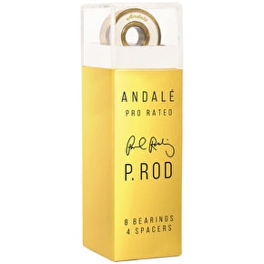 Andale Skateboard Bearings - Pen Box Paul Rodriguez (Pack of 8)