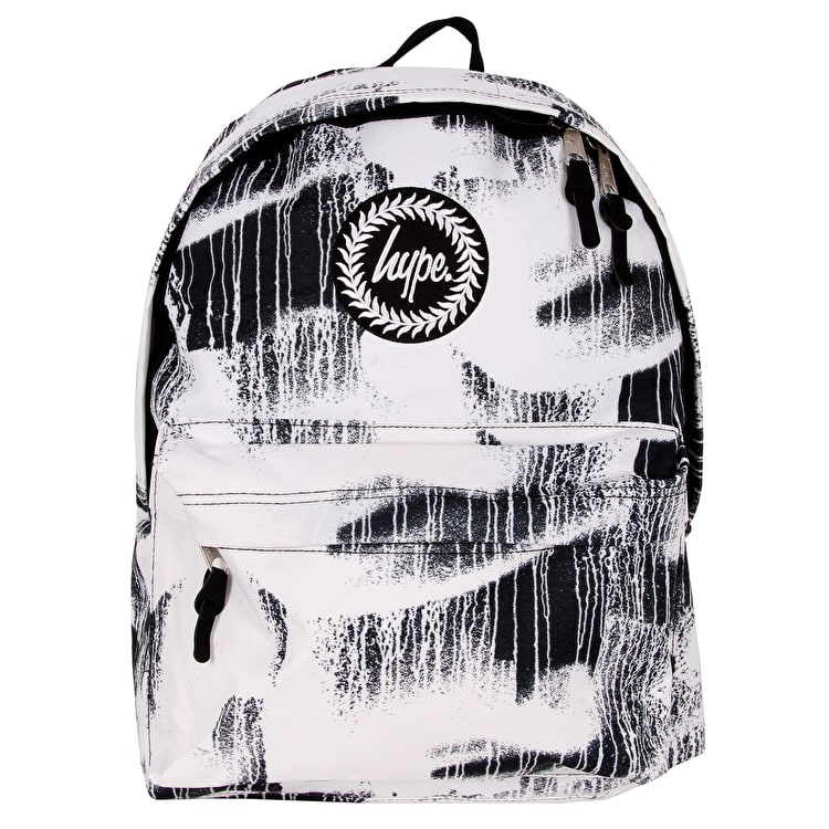 Hype Wall Drips Backpack - Black/White