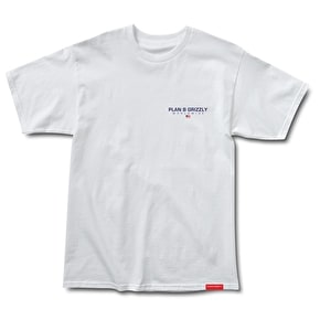 Grizzly Worldwide Embroidered T-Shirt - White