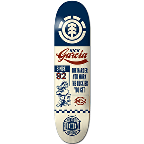 Element Skateboard Deck - Ballpark Garcia 8.25
