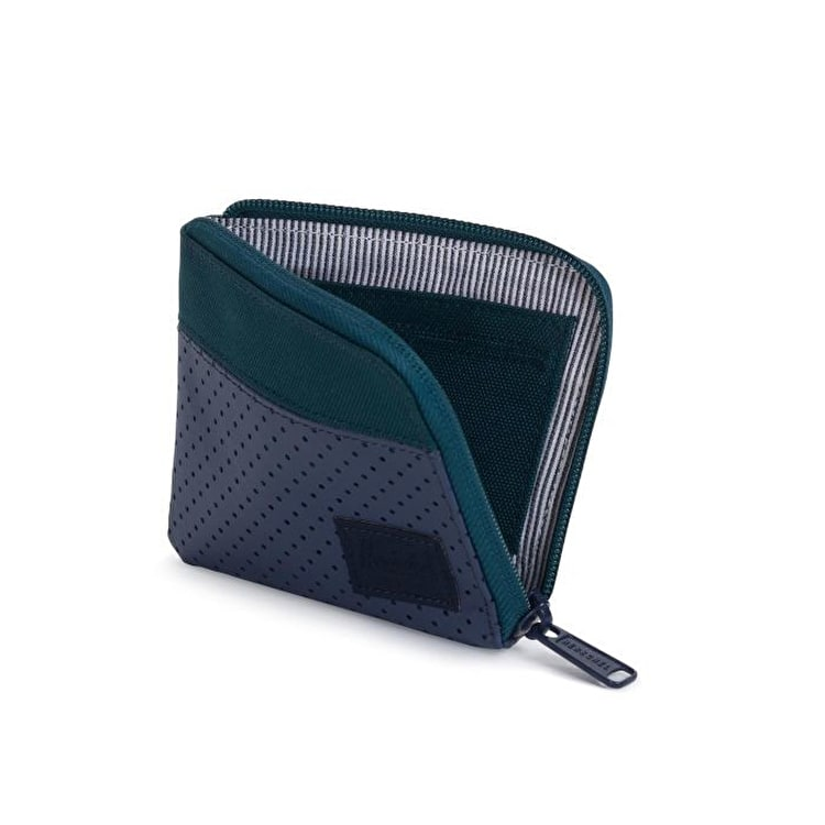Herschel Johnny RFID Wallet - Deep Teal/Peacoat