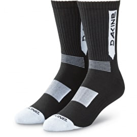 Dakine Step Up Socks - Black/White