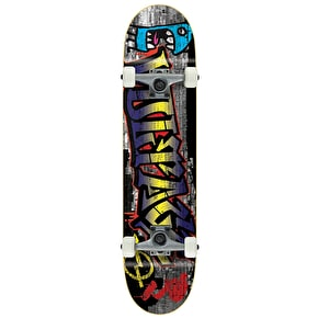 Voltage Graffiti Complete Skateboard - Blue