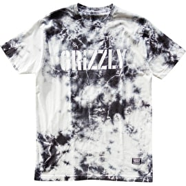 Grizzly Storm Front T Shirt - Tie Dye