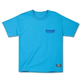 Grizzly Pool Service Kids T shirt - Turquoise