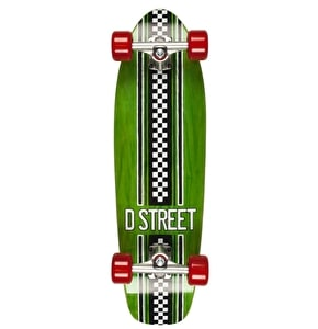 D-Street Bomber - Check Green/Red 29