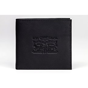 Levi's Vintage Two Horse Bifold Coin Wallet - Black