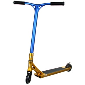 Crisp Custom Scooter - Cheapshots Gold/Blue