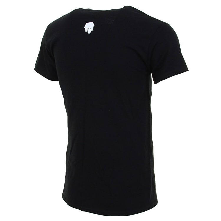 SkateHut Circle Dot Logo T Shirt - Black