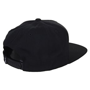 DGK Chronic Snapback Cap - Black