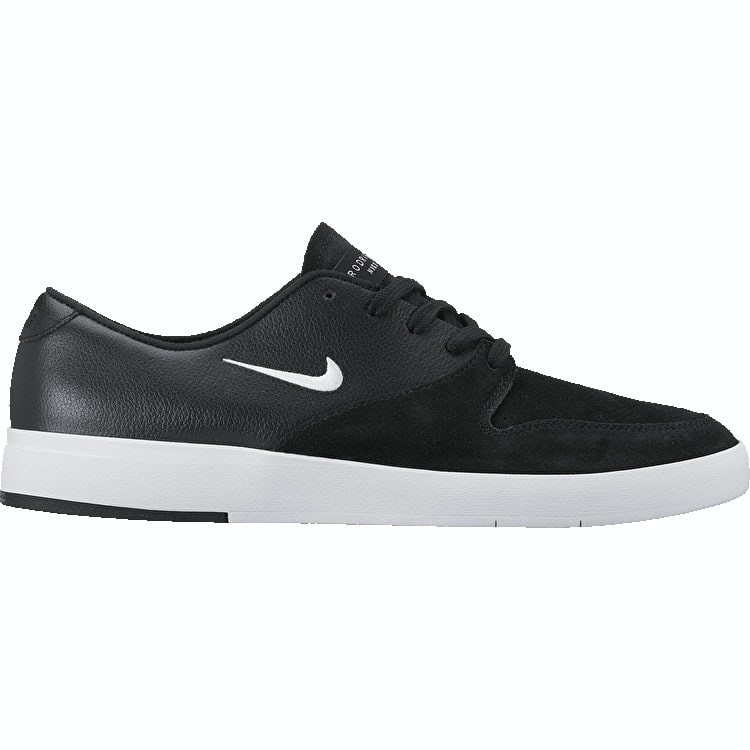B-Stock Nike SB Zoom P-Rod X Skate Shoes - Black/White Size - UK 7 (Ex-Display)