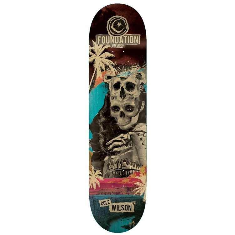 Foundation Nuclear Skateboard Deck - Wilson 8.25""
