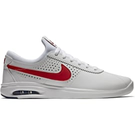 Nike SB Air Max Bruin Vapor Skate Shoes - White/Gym Red/Game Royal