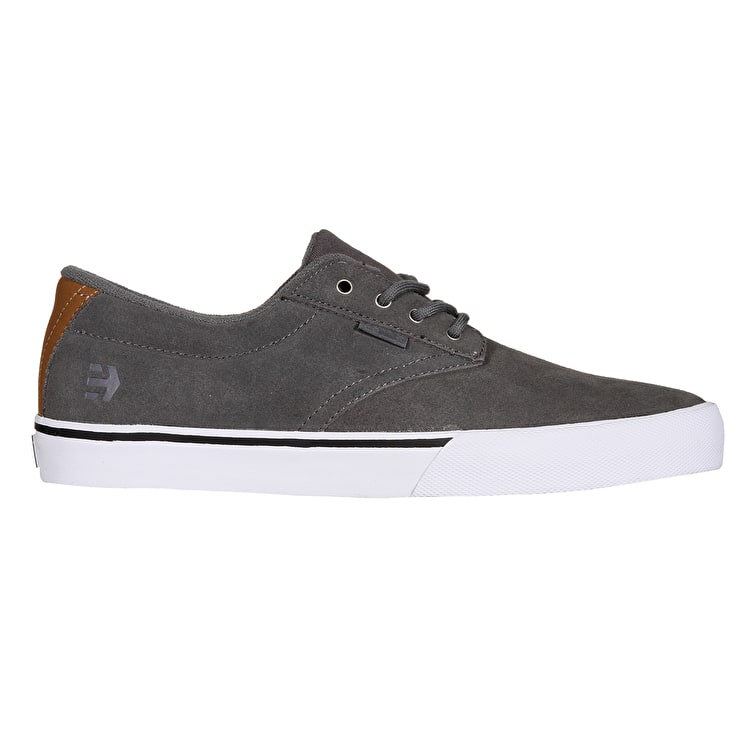 Etnies Jameson Vulc Skate Shoes - Grey/Brown