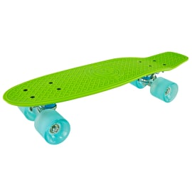 Madd Gear Pro Skins Retro Cruiser - Lime/Blue
