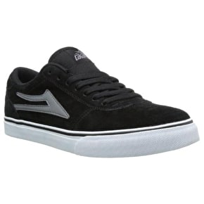 Lakai Manchester Skate Shoes - Black/Grey