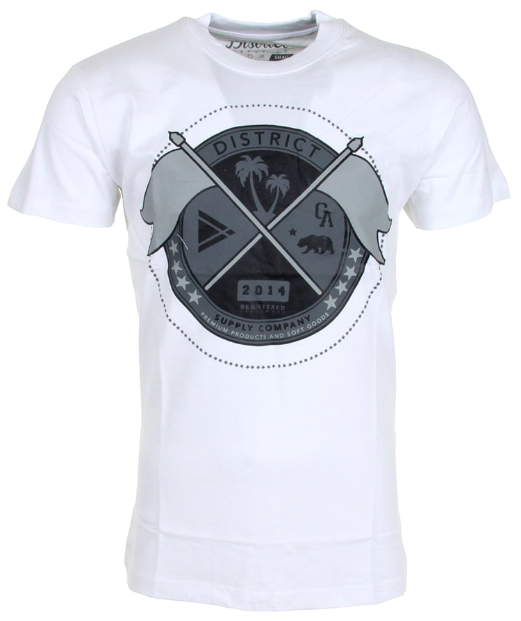 Image of District Supply Co. Seal T-Shirt - White
